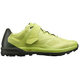 Mavic XA Elite II Shoes Herrer, lime green/duffel/duffel